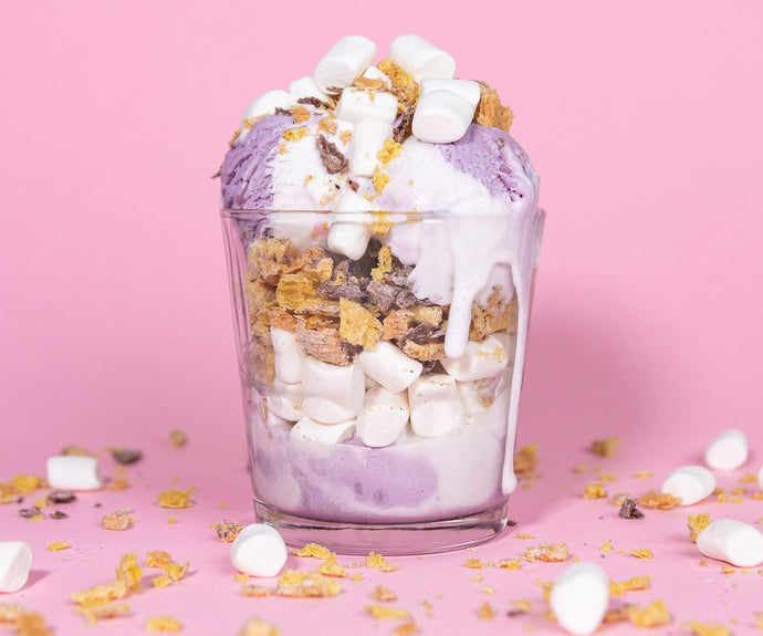 Marshmallow Cereal Morning Parfaits