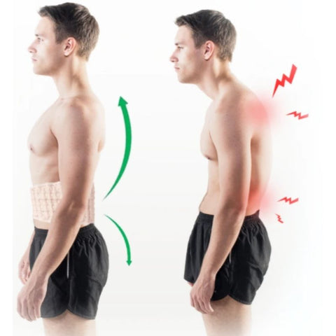 This back brace helps improving the posture problems you have to help you regain confidence