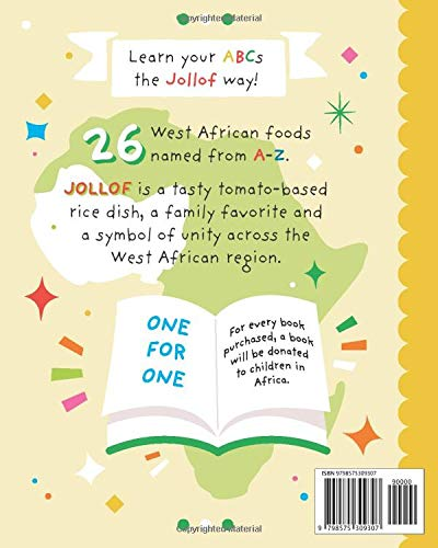 J is for Jollof  An African Alphabet Paperback
