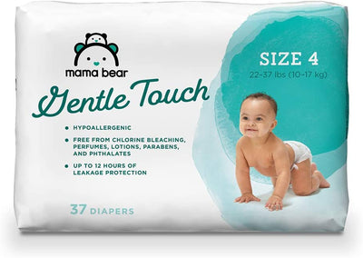 Mama Bear Gentle Touch Diapers, Hypoallergenic