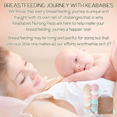 Breastfeeding Nipple Pad for Maternity - Reusable Nipplecovers