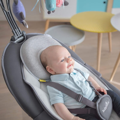 Pediatrician Designed Infant Head and Neck Support to Prevent Flat Head Syndrome