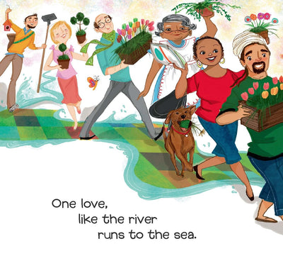 One Love  Bob Marley Book for Kids, Music Books for Kids,Hardcover