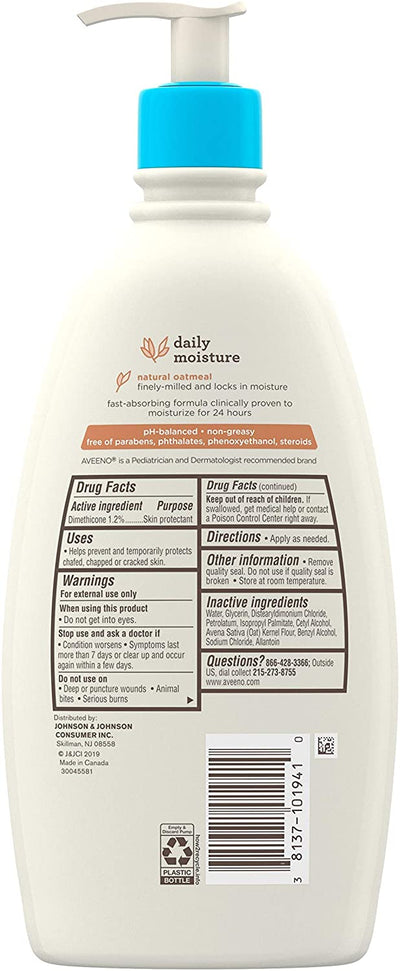 Daily Moisture Moisturizing Lotion for Delicate Skin
