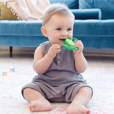 Infantino Lil' Nibble Teethers Carrot Easy Hold Handles