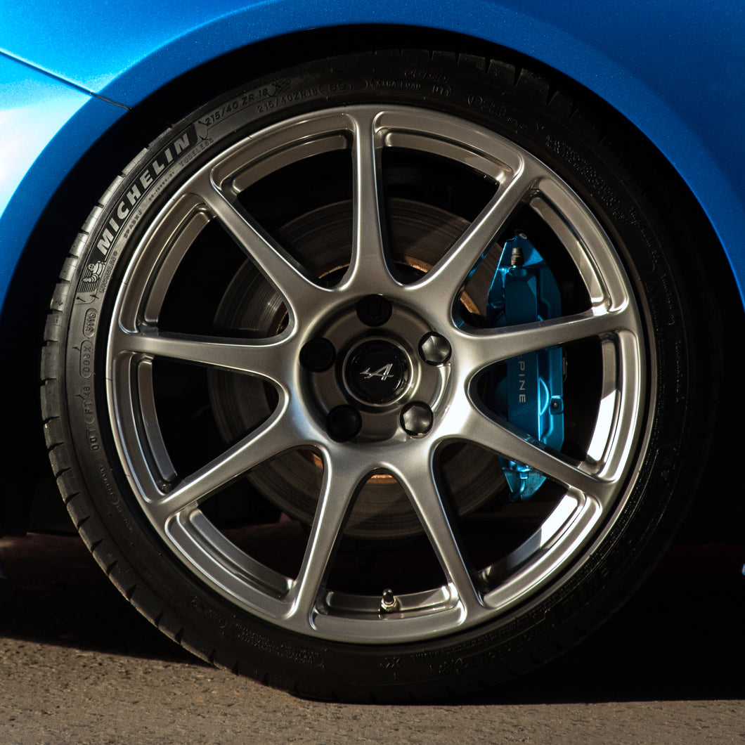 LIFE110: Atelier colour system for Alpine A110 Cup Evo Corse Wheels