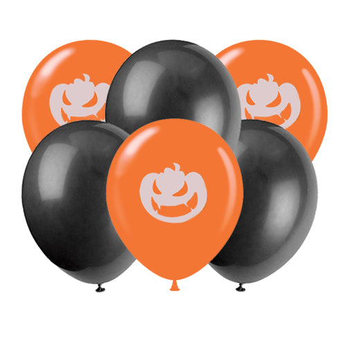 Halloween Balloons, Angry Pumpkin Balloons, Black Balloons, Pumpkin Balloons, Halloween Party, Halloween, Halloween Decor, Halloween Ideas