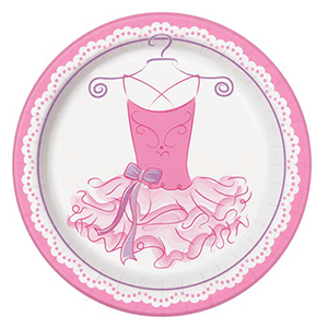 Ballet Party Plates 8ct