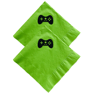 Video Game Controller Napkins 20 Count, Video Game Napkins, Video Game Party Decor, Gamer Party
