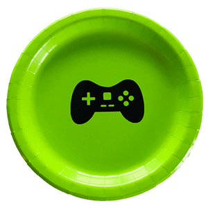 Video game party plates 10 count, video game party, gamer birthday, xbox party, video game party supplies