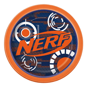 Nerf Party Plates 8 count, Nerf Party, Nerf Birthday, Nerf Tableware, Nerf Party Plates, Nerf Gun Party Ideas, Nerf Party Decor, Nerf Party Supplies
