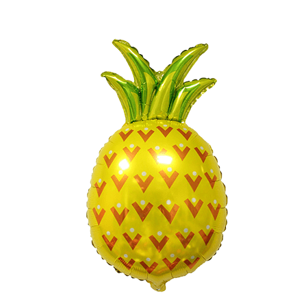 Pineapple Balloon 31 inch, Pineapple, Pineapple Balloons, Pineapple party, Luau, Hawaiian Party