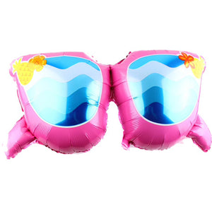 Giant Pink Foil Sunglass Balloon 35""