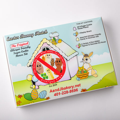 Allergen Friendly Easter Bunny Hutch Kit