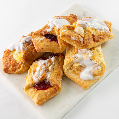 Assorted Fruit Filled Danish