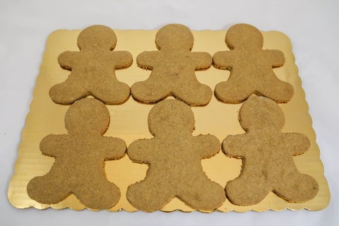 6 pk Allergen Friendly Gingerbread Men