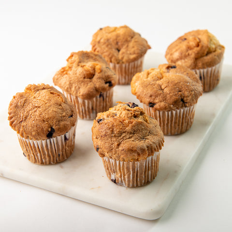 6 pk. Nut and Gluten Free Muffins