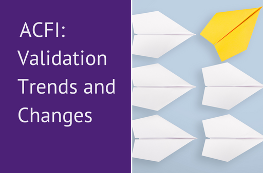 ACFI Validation Trends and Changes