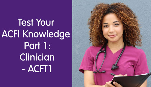 Test your ACFI Knowledge Part 1 – Experienced Clinician