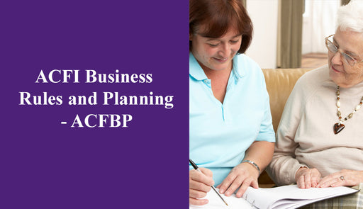 ACFI Business Rules and Planning