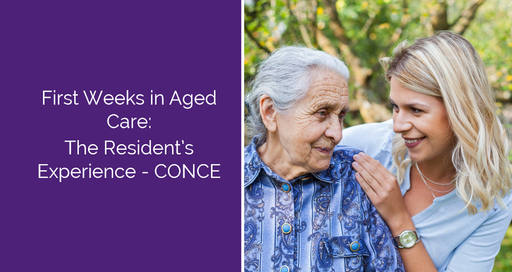 First Weeks in Aged Care: The Resident's Experience