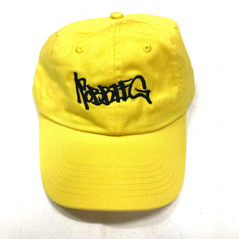 Robbie G Dad Hat - Yellow