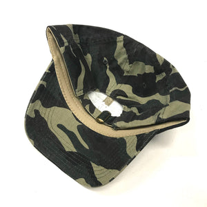 Robbie G Dad Hat - Green Camo