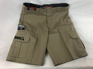 Dickes Robbie G Cargo Pants Shorts - Tan