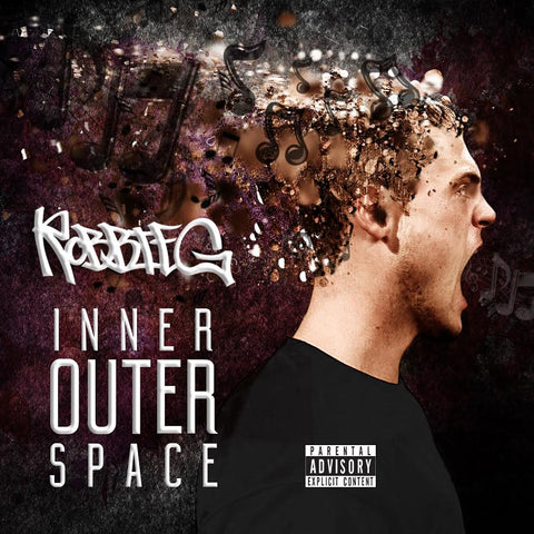 "Robbie G ""INNER OUTER SPACE"" Hard Copy CD"