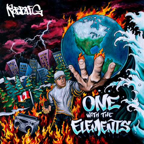"Robbie G ""One With The Elements"" Hard Copy CD"
