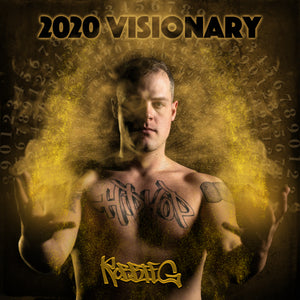 "Robbie G ""2020     VISIONARY"" Autographed Hard Copy CD"
