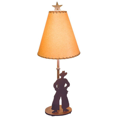 Cowboy Silhouette Table Lamp