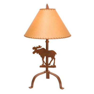 Moose Silhouette Table Lamp