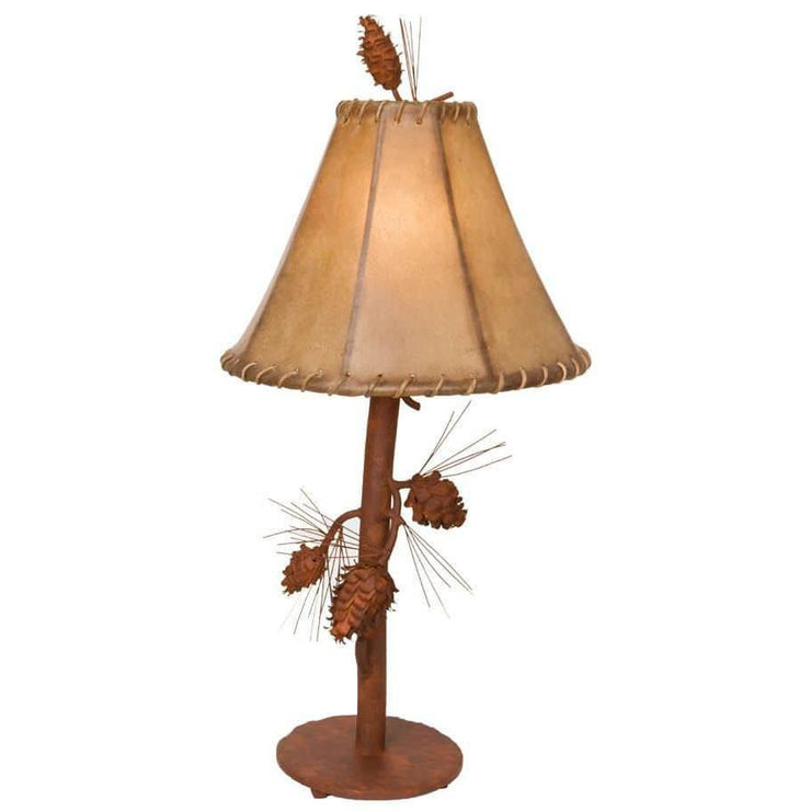 Saranac Pine Cone Table Lamp