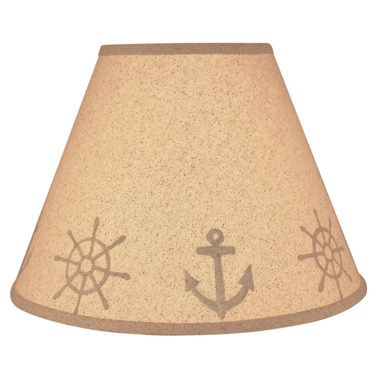 Anchor & Ship Wheel Lamp Shade