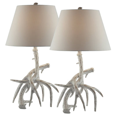 Antler Table Lamp Set of 2