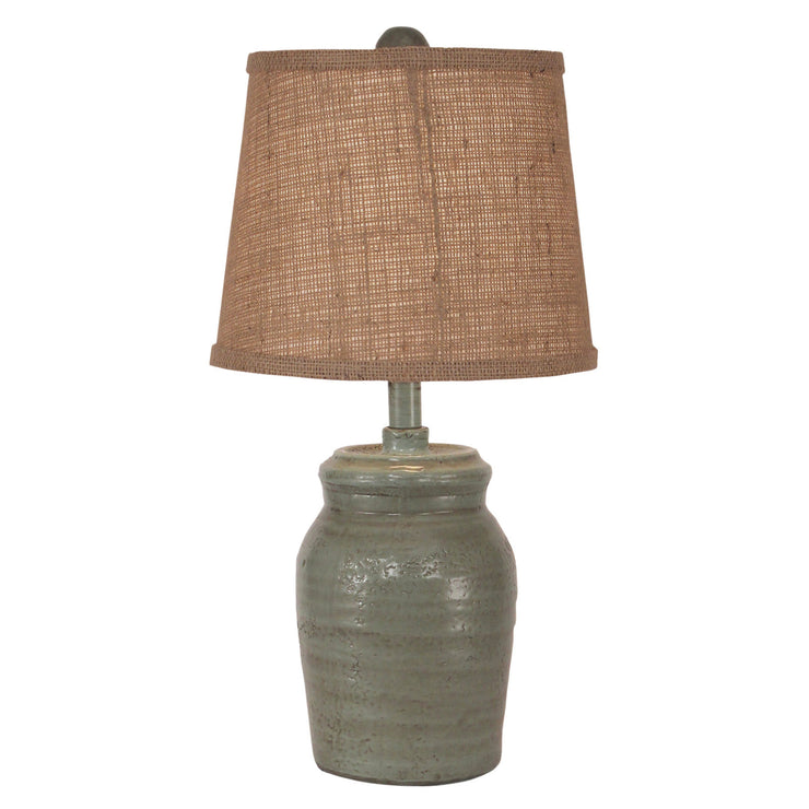 Honey Jar Atlantic Grey Accent Lamp