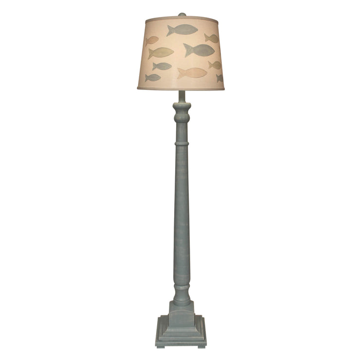 School of Fish Candlestick Floor Lamp