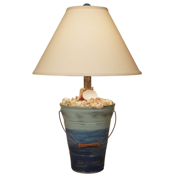 Bahama Bucket of Shells Table Lamp
