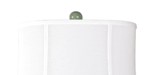 Beach Town Table Lamp Shade Close-up