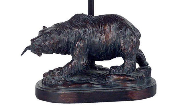 Bear Accent Lamp Base Close-up