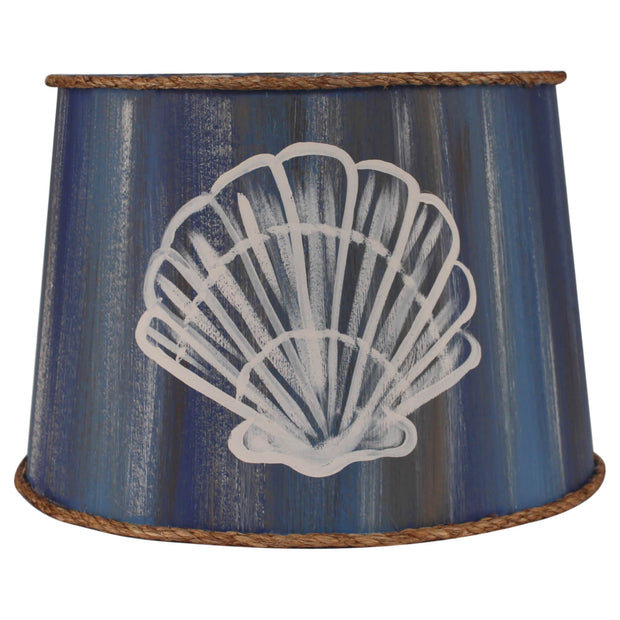 Blue Streak Shell Lamp Shade