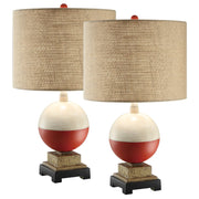Bobber Table Lamp Set of 2