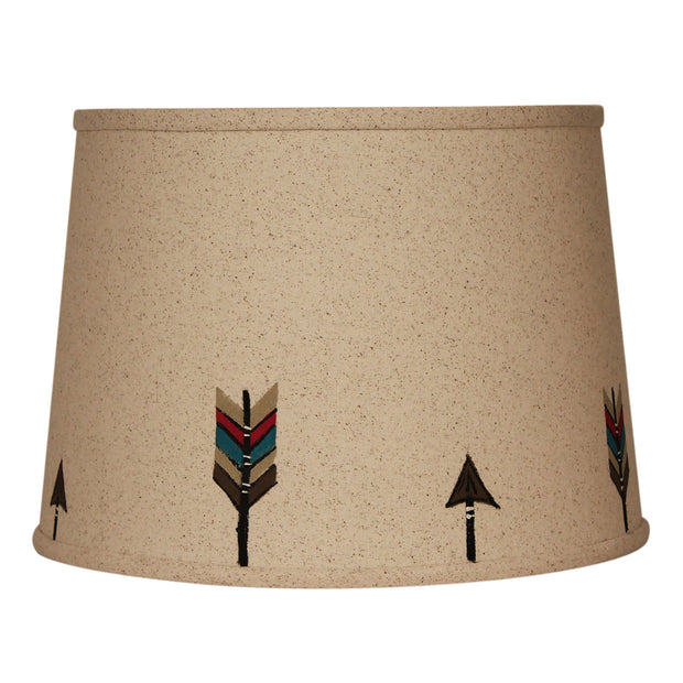 Broken Arrows Lamp Shade