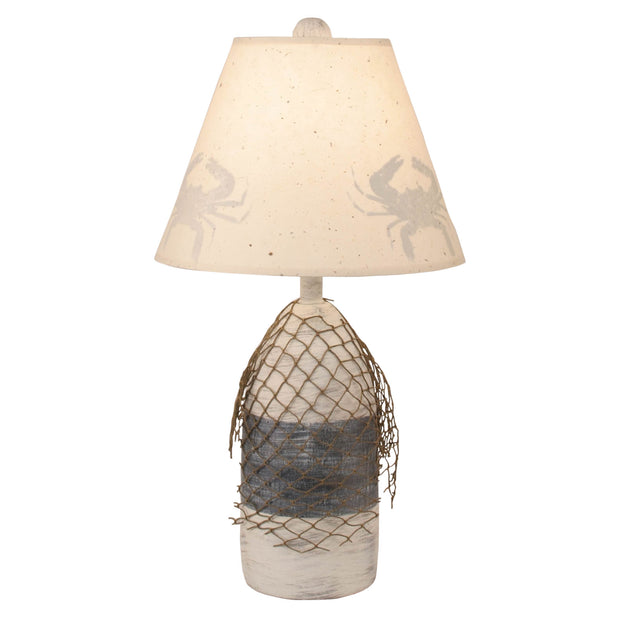 Buoy Accent Lamp with Crab Shade