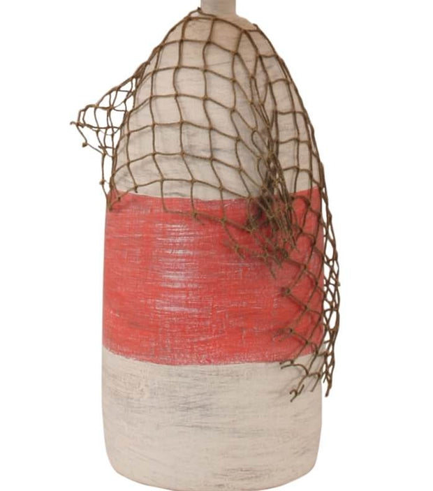 Buoy with Net Accent Lamp Base Close-up