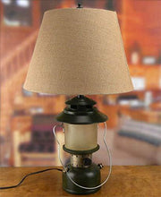 Camp Lantern Table Lamp with Night Light