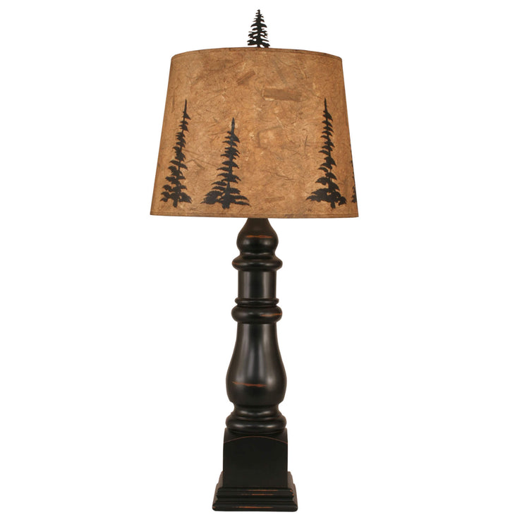 Country Squire Pine Tree Table Lamp