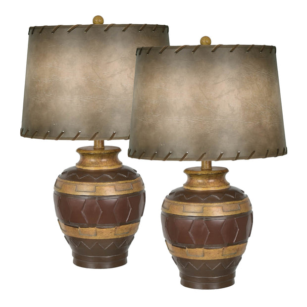 Dakota II Table Lamp Set of 2