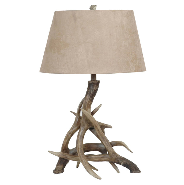 Deer Shed Antler Table Lamp